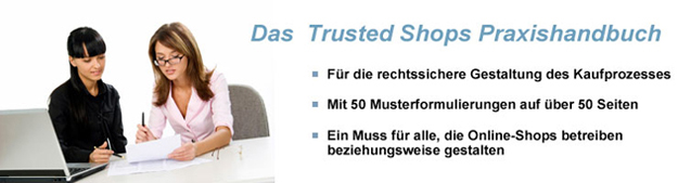 Trusted Shops Praxishandbuch